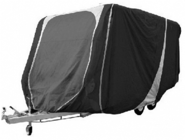 Streetwize Breathable Charcoal Grey Caravan Cover 14-17 Ft